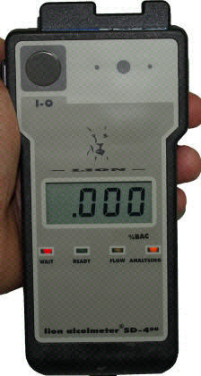 Lion SD400 Breathalyzer