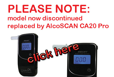 Cllick here for CA20 Breathalyzer